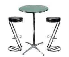 Barstol og bord